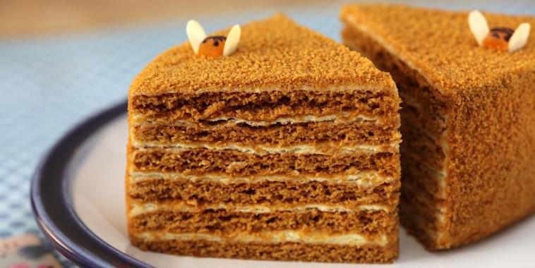 Вкусный медовый пирог рецепт