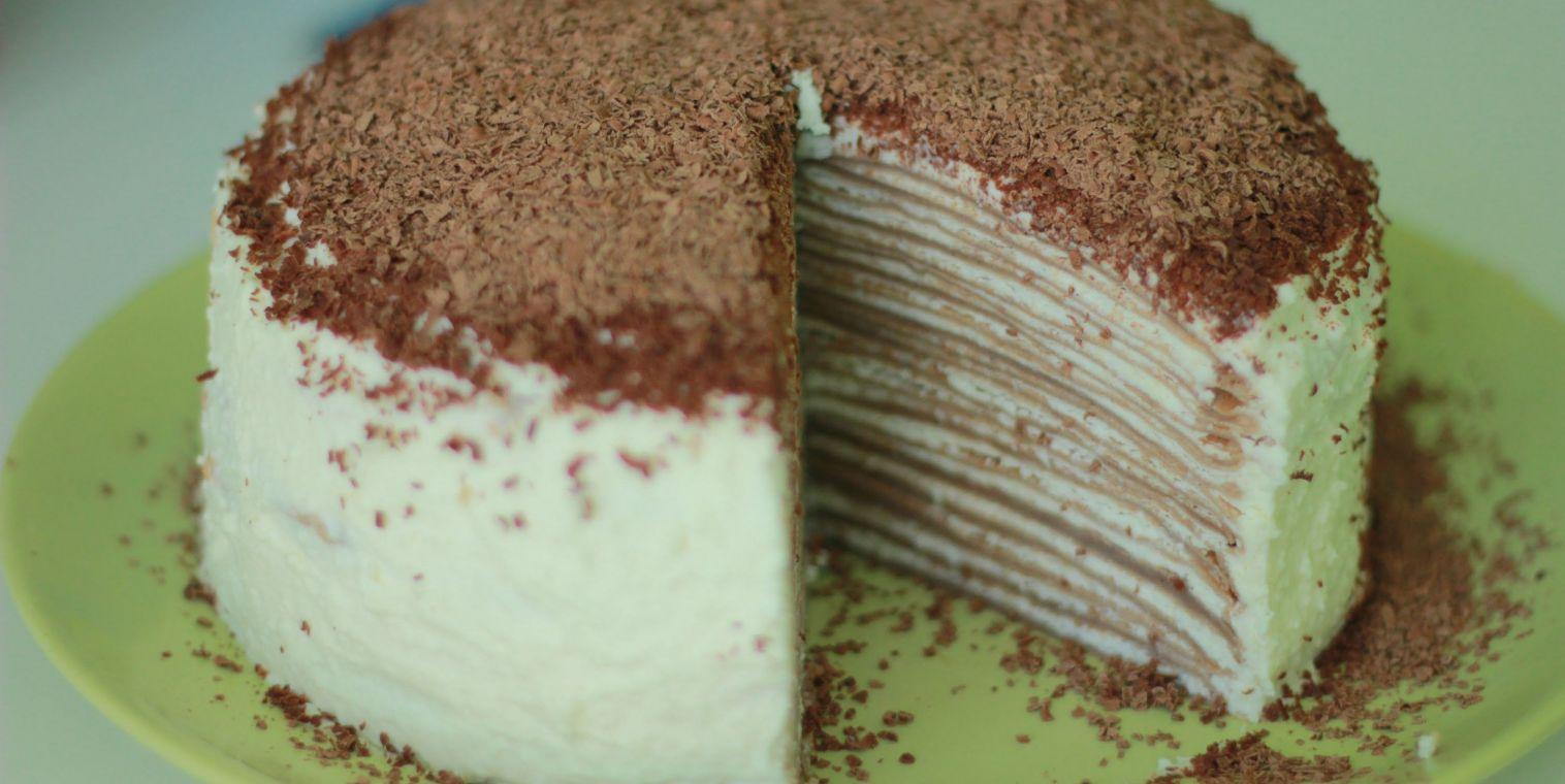 Блинный торт пошаговые рецепты с