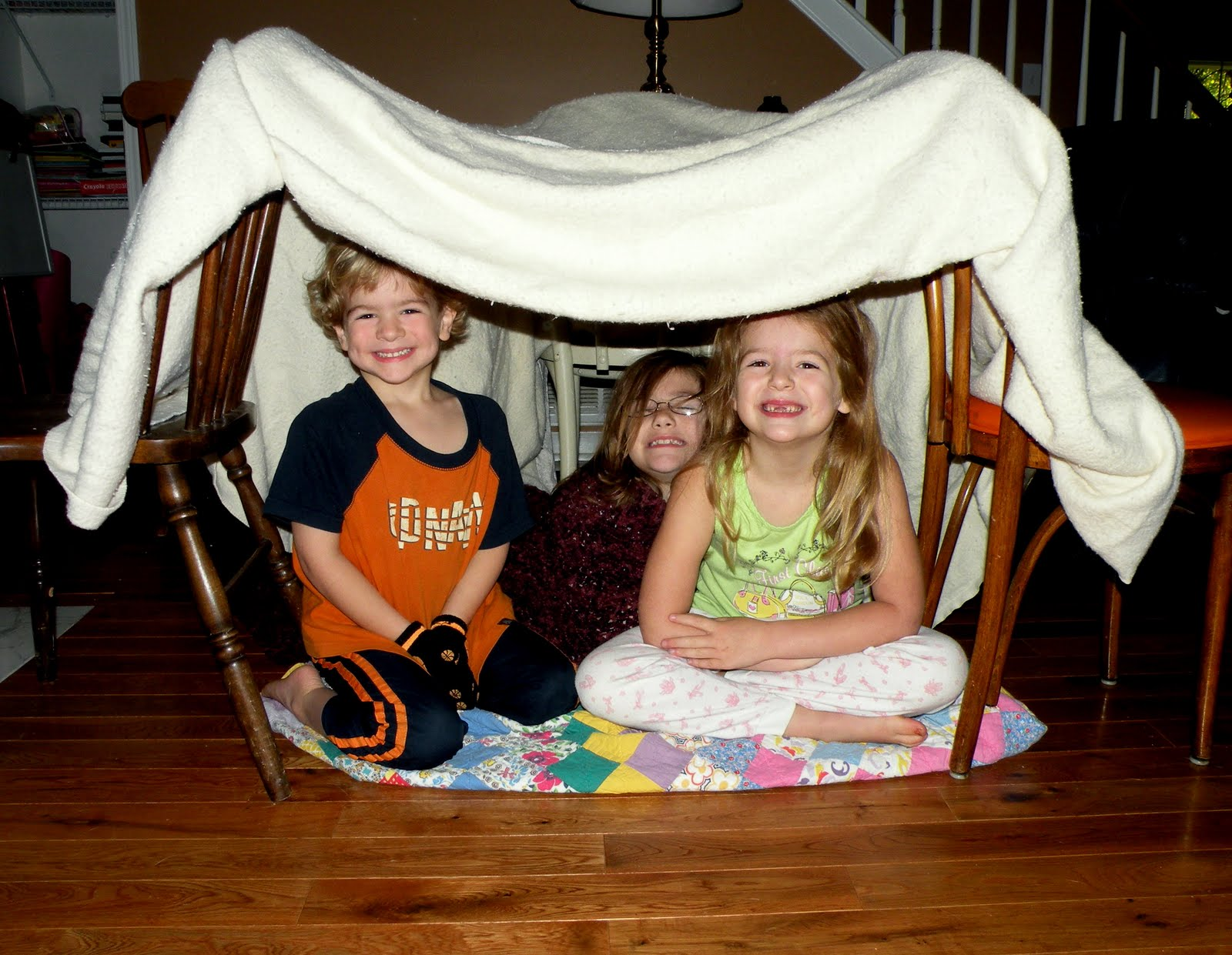 Как сделать палатку из одеяла фото 940